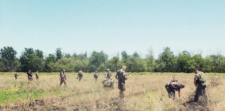 ВСУ решили разминировать посёлок Новолуганское после того, как подорвался пастух