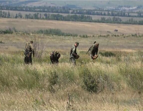 30 омбр проводит работы по разминированию местности после участившихся случаев подрыва военнослужащих бригады